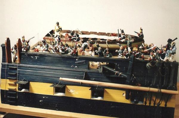 Gun Deck Cutaways - Decorative And Definitive Art Form