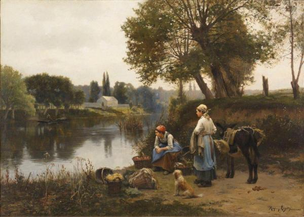 Realism Paintings 19th Century Art