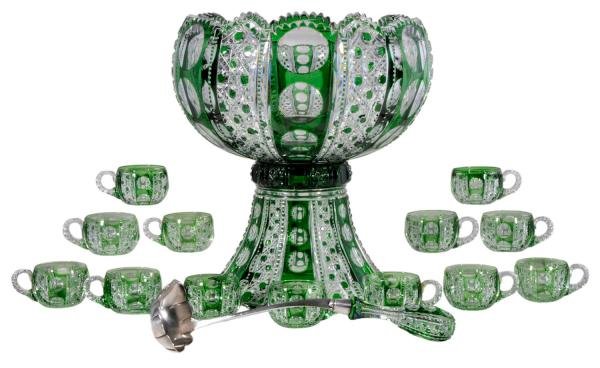 Cut Glass Leads Brilliant Brunk Auctions