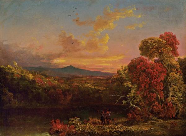 Hudson River School Thomas Cole Paintings