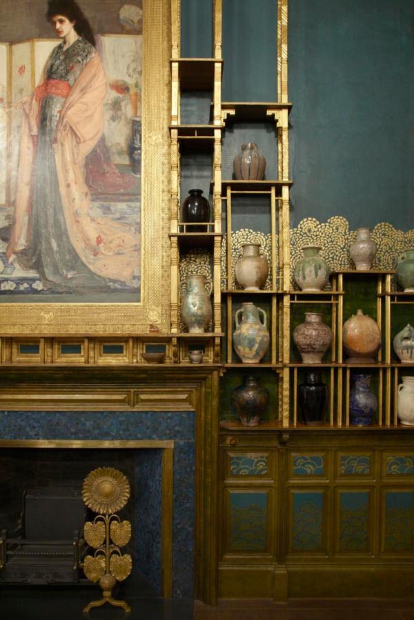 Freer Reveals Light-filled Whistler' Peacock Room