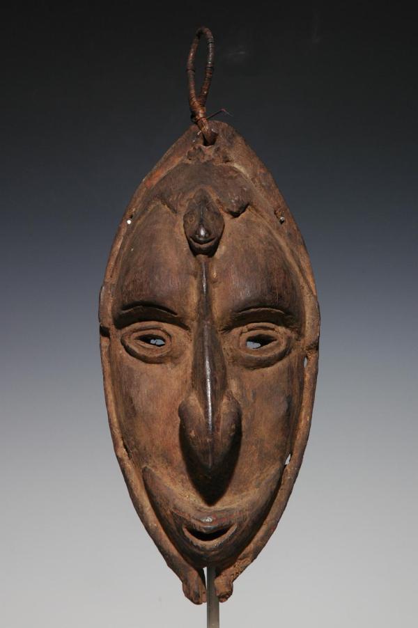 Oceanic Tribal Art Masks