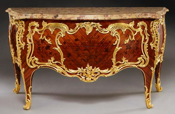 Signed French Furniture Exceptional Estate Jewelry And
