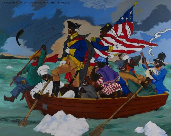 Figuring History Robert Colescott Kerry James Marshall