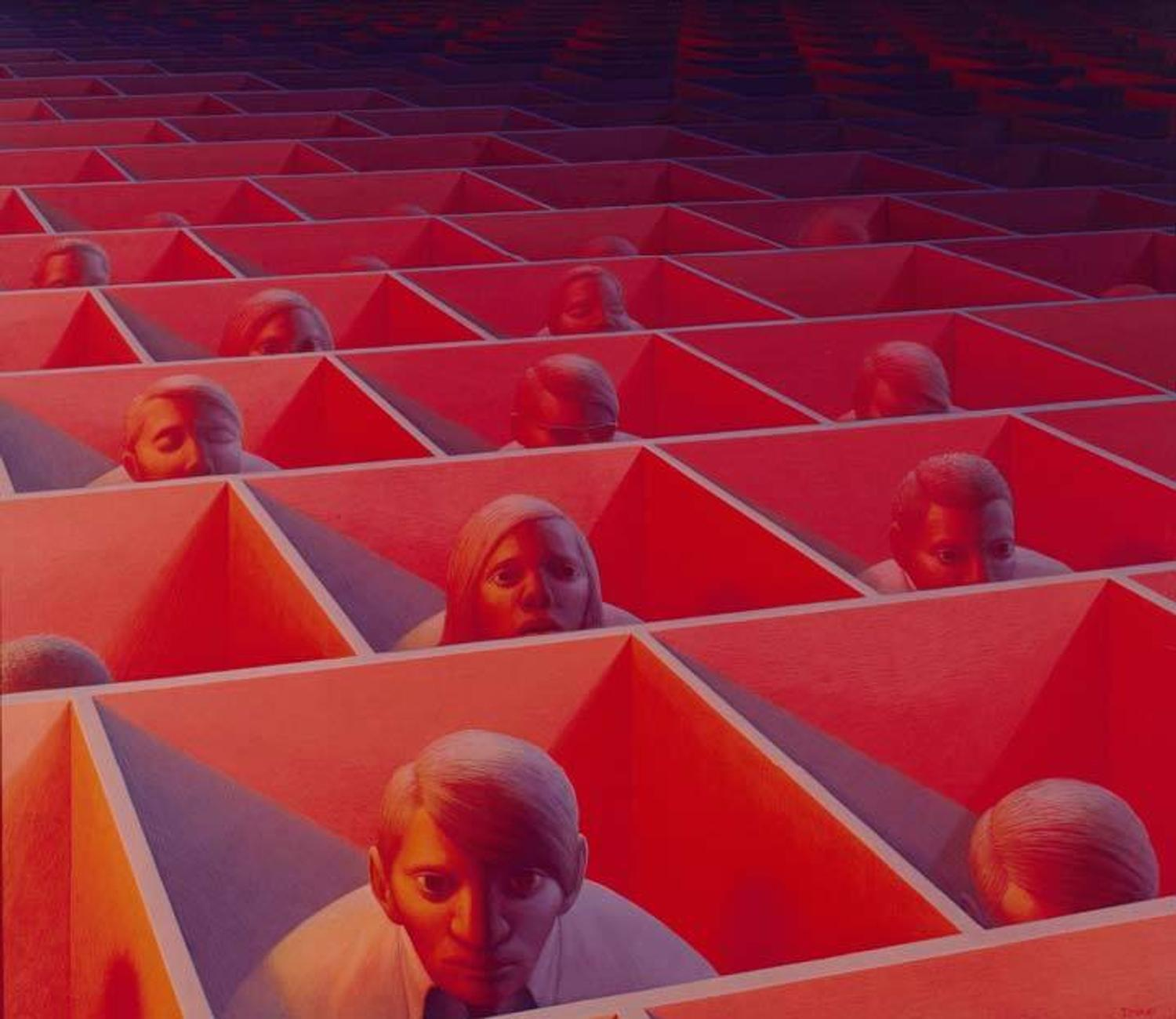 GEORGE TOOKER 1920 2011 Reality Returns As A Dream