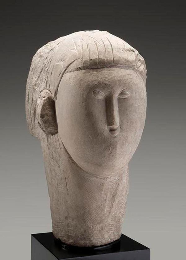 Rare Modigliani Sculpture Kimbell Art Museum