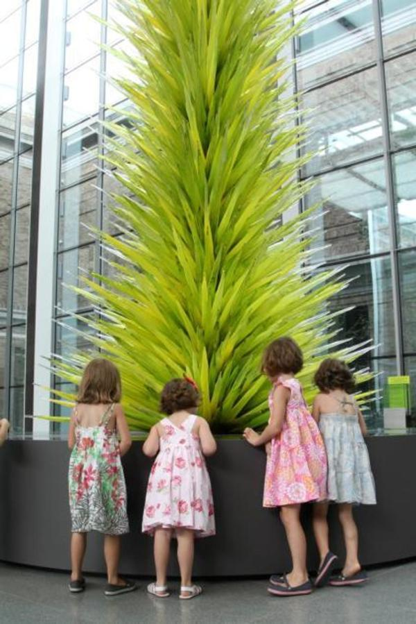 Donors Chihuly Glass Tower Remain Museum Of Fine