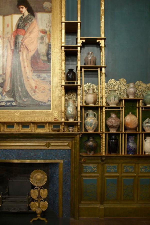 Freer Reveals Light-filled Whistler' Peacock Room - Artfixdaily Feed