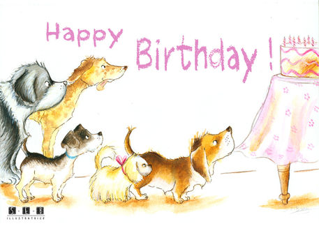 Happy Birthday GraphicIllustration Art Prints And