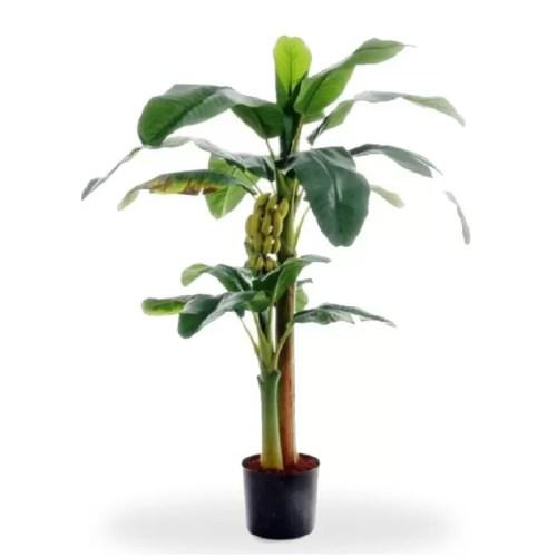 Bananier artificial cu fructe premium h145