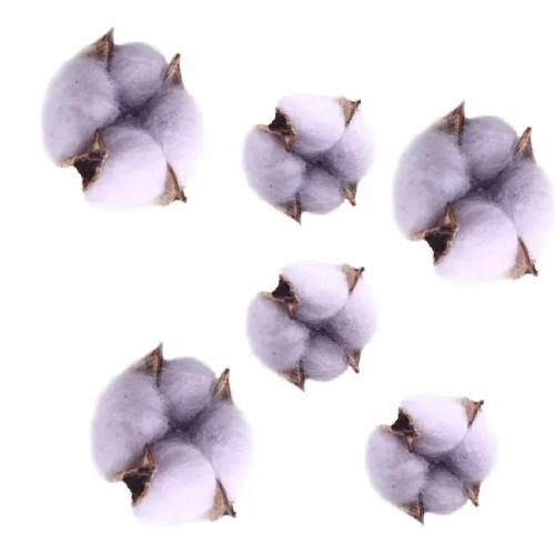 Bumbac capete violet pastel