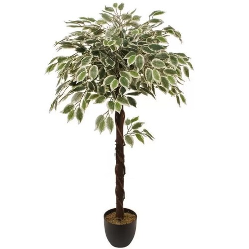 Ficus artificial globular variegat 120cm original