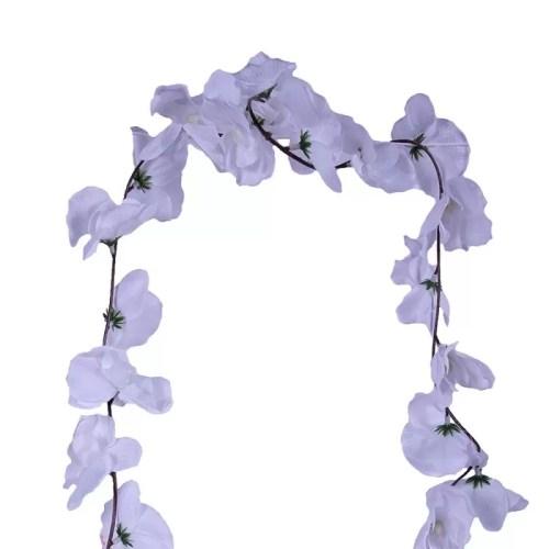 Ghirlanda Orhidee alba 36 det