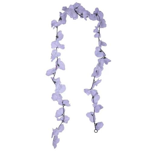 Ghirlanda Orhidee alba 36
