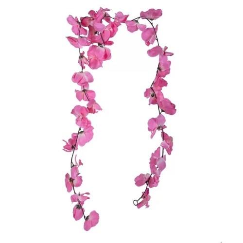 Ghirlanda Orhidee roz 36