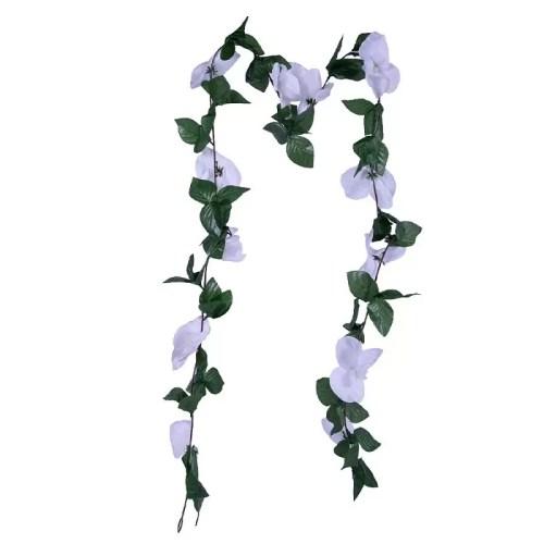Ghirlanda orhidee alba 175 1