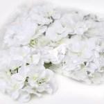 hortensia planta artificiala alb