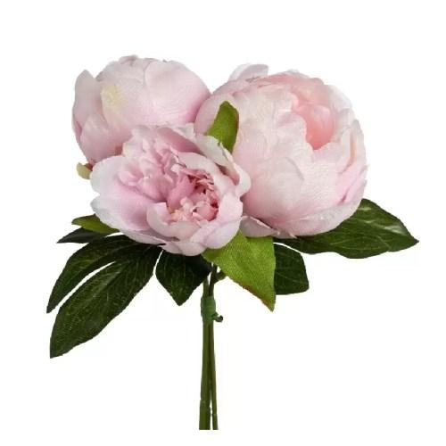Buchet bujori roz pal