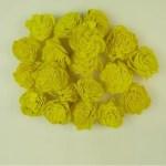 Capete flori Ming Galben set