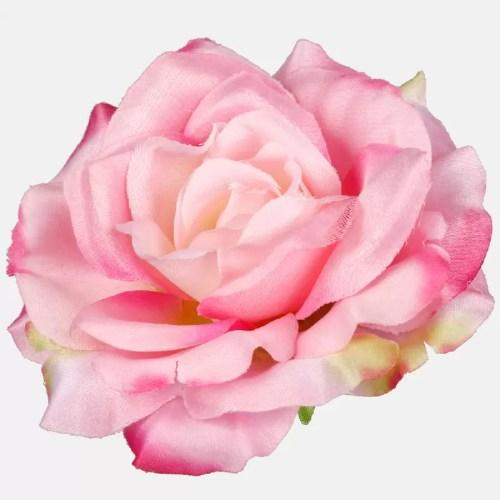 Trandafir artificial roz 11cm 634
