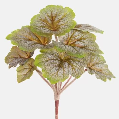 Begonia artificiala verde maro h24cm