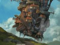 Fan Art Howl Moving Castle Dari Studio Ghibli Oleh Seniman Indonesia