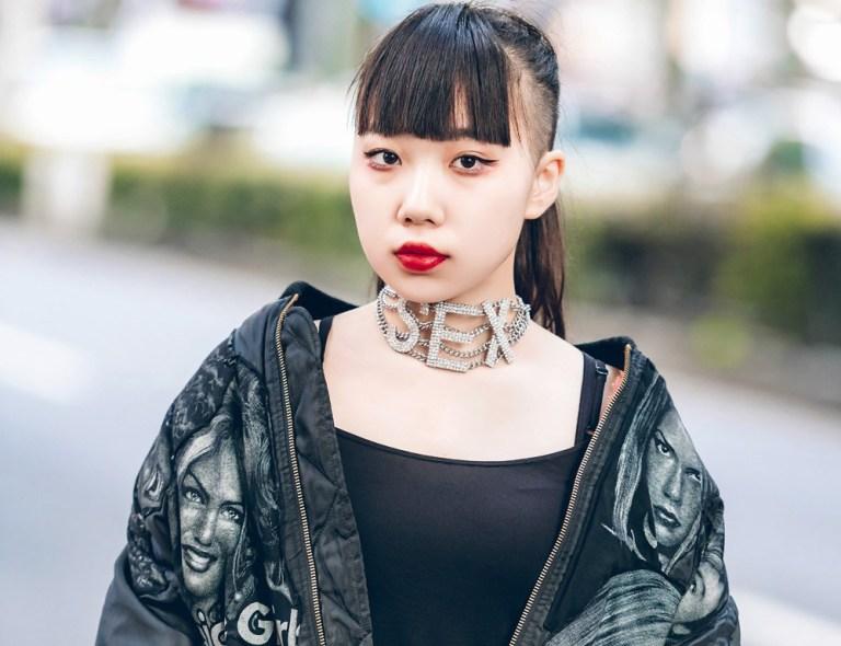 Busana Serba Hitam Bergaya Rocker Dalam Harajuku Fashion artforia
