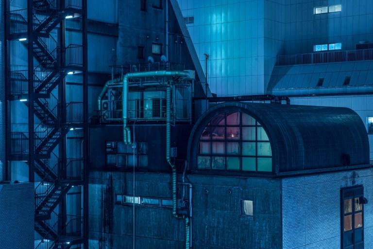 Pesona Arsitektur Cyberpunk Dari Gedung Tokyo