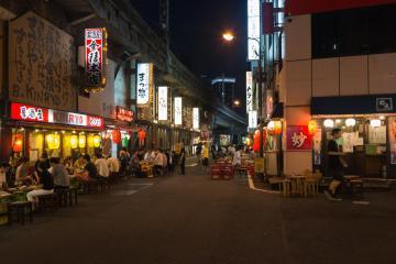 Restoran Kaki Lima Jepang Yang Disebut Gado Shita