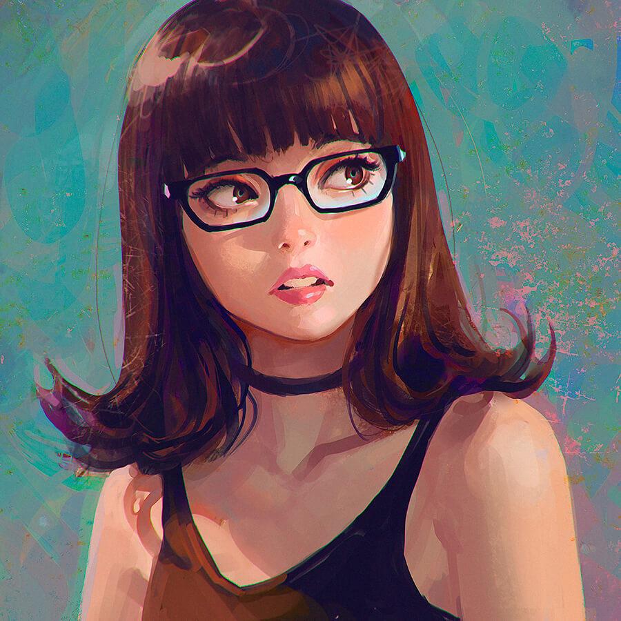 Ilustrator Rusia Yang Berbasis Di Yokohama Tampilkan Desain Karakter Yang Memukau