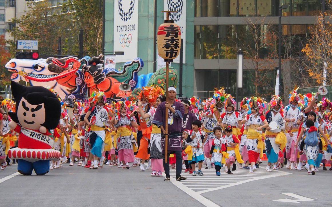 Parade Yang Meriah Dalam Aomori Nebuta Festival