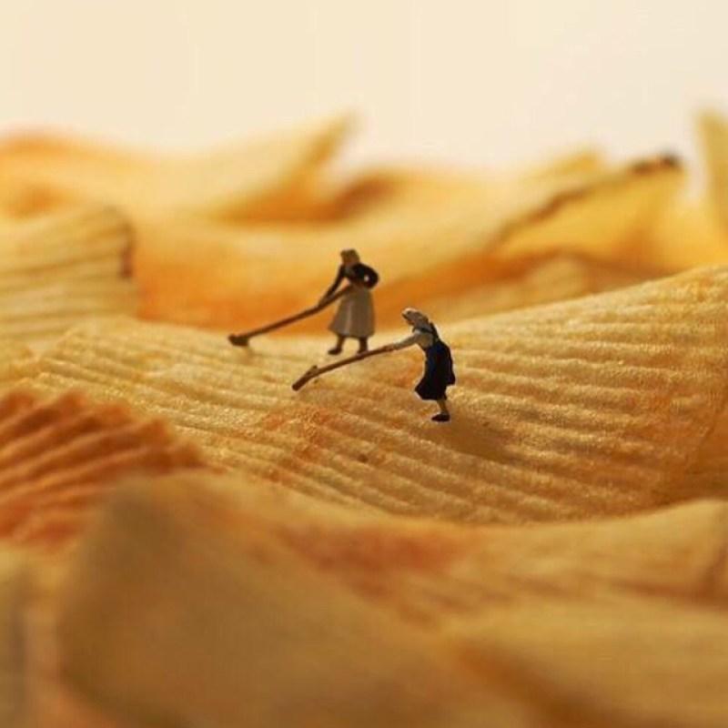Fotografi Unik Dengan Miniatur Kecil Oleh Fotografer Terkenal