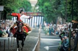 Teknik Panahan Tradisional Jepang Yang Disebut Yabusame