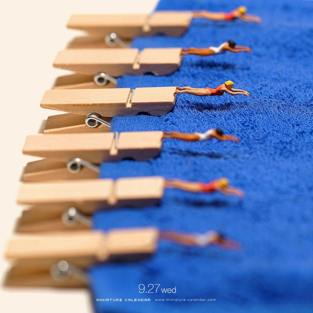 Fotografi Unik Dengan Miniatur Kecil Oleh Fotografer Terkenal Tanaka Tatsuya
