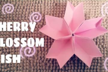 Teknik Melipat Origami Kusudama Bunga Sakura