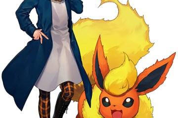 Desain Keren Dari Para Ilustrator Terkenal Jepang Dalam Project Eevee Pokemon