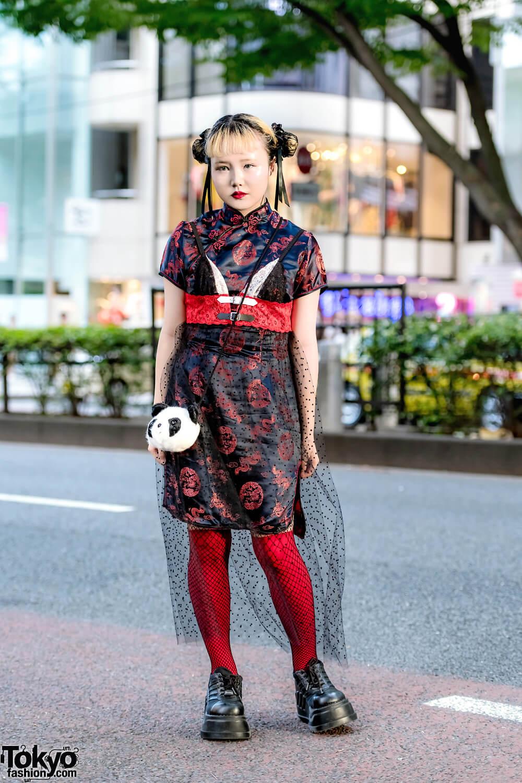 Chinese Lady Harajuku Style Oleh Lee Jueun Dalam Fashion Jepang