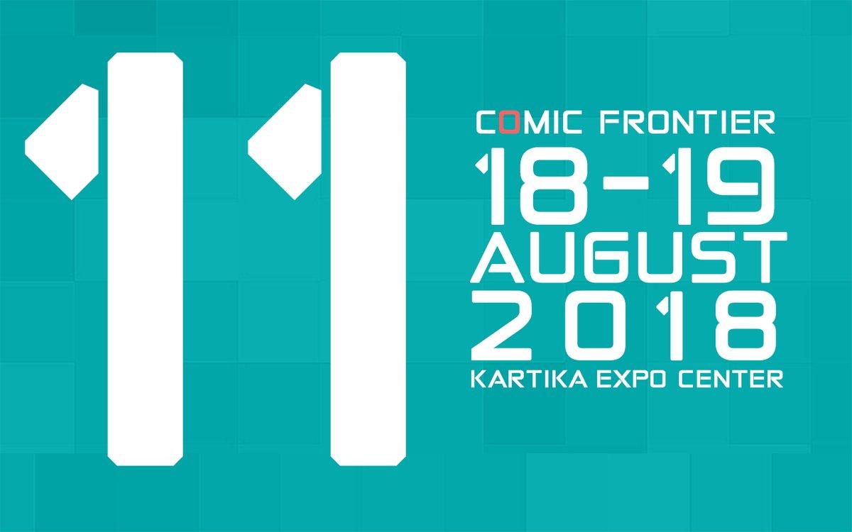 Comic Frontier 11 Akan Berlangsung Pada Bulan Agustus Di Gedung Balai Kartini Jakarta