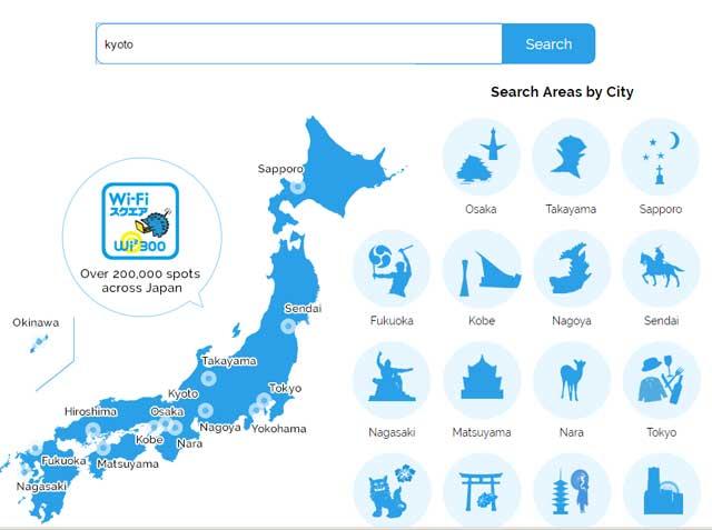 Cara Mendapatkan Free Wifi Internet Di Jepang 2