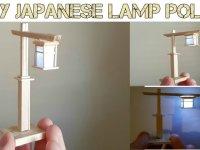 Membuat Lampu Kecil Untuk Meja Berdesain Jepang