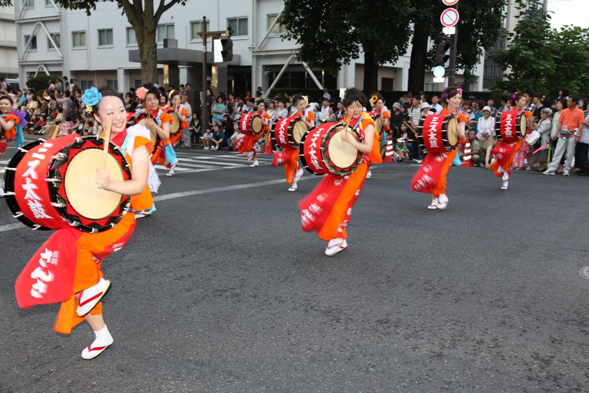Festival Marioka Sansa Odori Meriahkan Musim Panas Jepang