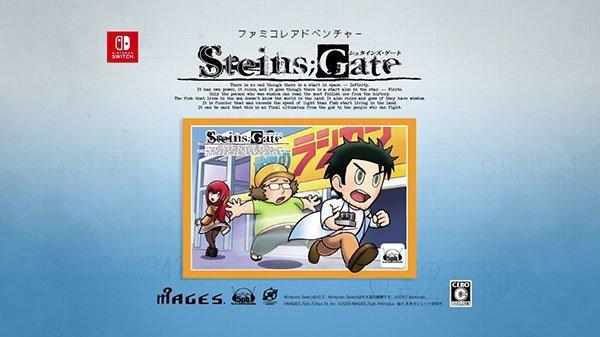 Trailer Steins Gate 8bit Kedua Untuk Steins Gate Elite versi Nintendo Switch Telah Rilis