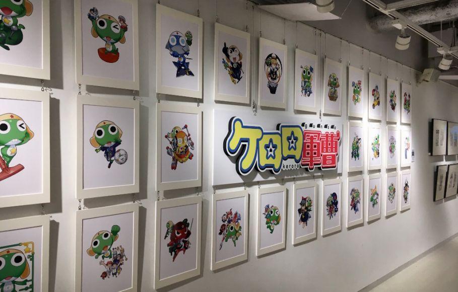 Pameran Ulang Tahun Ke-20 Dari Franchise Sersan Keroro Di Gedung Shibuya Records