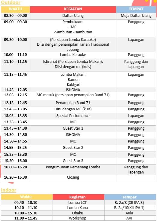 Saka No Ka SMAN 71 Jakarta, Acara Seru Untuk Kamu Penyuka Budaya Jepang