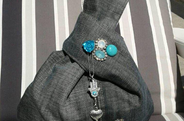Membuat Tas Knot Jepang Dengan Bahan Dasar Yang Mudah