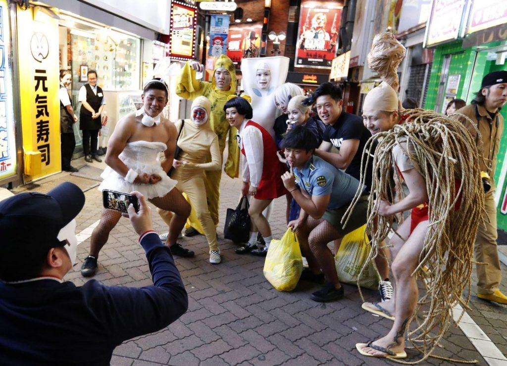 Festival Halloween Jepang, Lautan Kostum Di Shibuya !