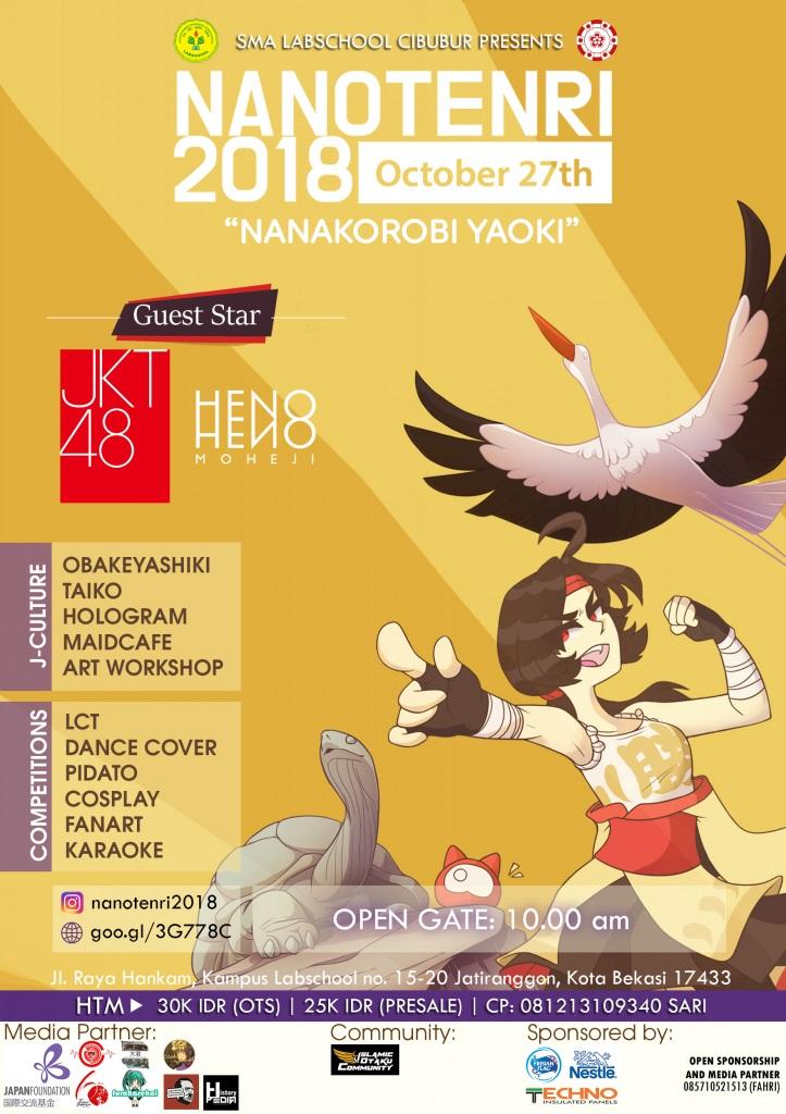 Jiwa Muda Pantang Menyerah ! Hadiri Festival Seru NANOTENRI Di Bekasi !!