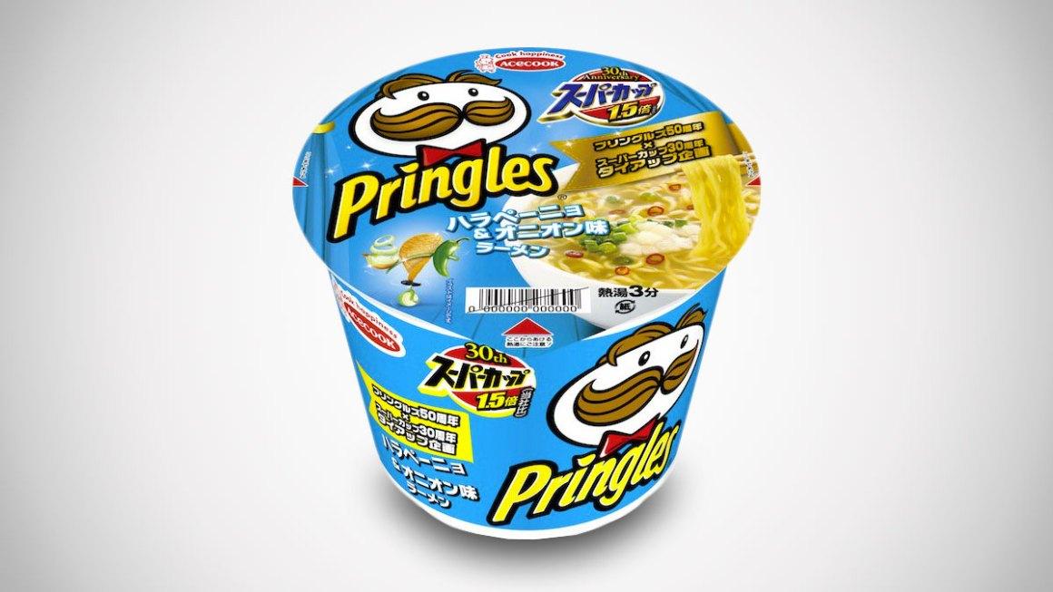 Penggemar Keripik Kentang Pringles ? Kini Ramen Instan Jepang Miliki Rasa Pringles !