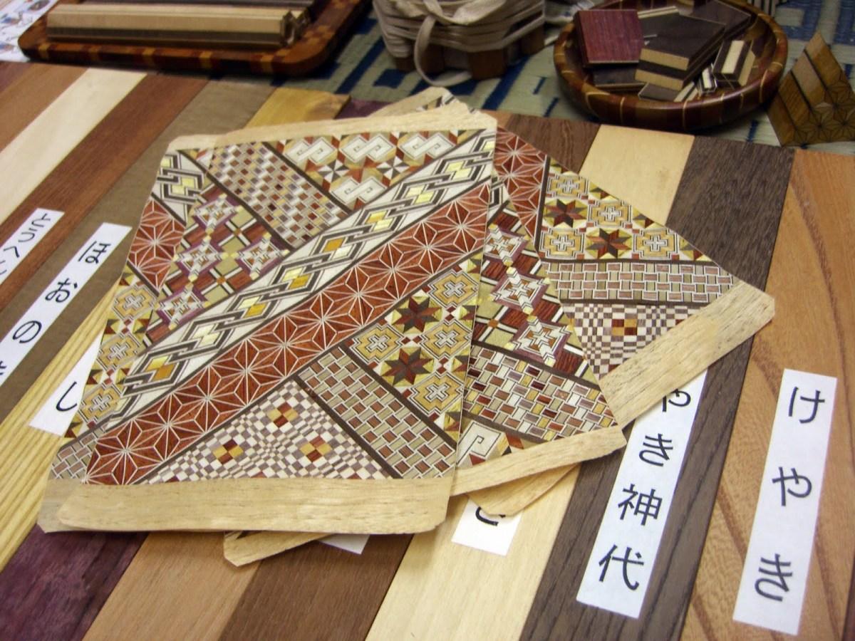 Yuk Mengenal Kerajinan Marquetry Jepang Yang Disebut Yosegi-Zaiku !