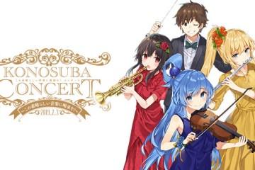 Serial Anime Populer KonoSuba Dapatkan Konser Okestranya Pada Tahun Depan !